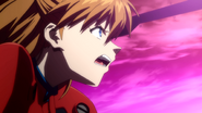 Asuka in Unit-02 (Rebuild)