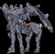 Artwork del Evangelion Unidad-02 Type II Allegorica.