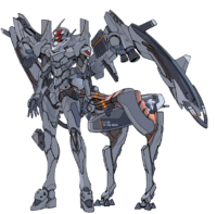 Artwork of Evangelion Unit-02 Type II Allegorica