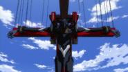 Evangelion Unit 03 crucified (Rebuild)