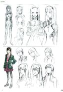 Mari Makinami Illustrious Earlier Designs 3