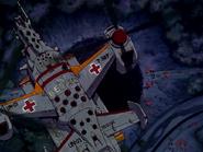 Evangelion Helicóptero de rescate de la ONU