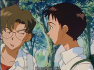 Shinji and Kensuke