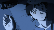 Shinji on bed (Rebuild)