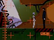 Episodio 5 Gendo y Rei Ayanami