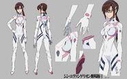 Mari Evangelion 3 + 1 Plugsuit