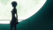 Rei and the moon (Rebuild)