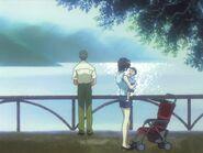 Yui y Shinji Ikari