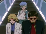 Cap4 Ritsuko Gendo y Rei.png
