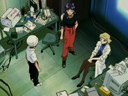Shinji Misato y Ritsuko Neon Genesis Evangelion 05