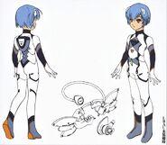 Rei Six Evangelion ANIMA 002