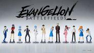 Evangelion Battlefields figuras