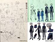 Kaworu Character Sheets