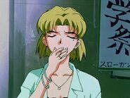 Flashback Akagi Ritsuko Fumando