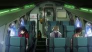 Misato with Ritsuko and Maya (Rebuild)
