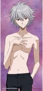 Kaworu Nagisa (Shirtless) Promotional Artwork