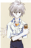 Kaworu Nagisa Promotional Artwork