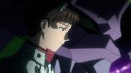 Shinji with Unit-01 (Rebuild)