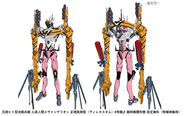 Evangelion Unit-08β ICC Trailer Version Front and Rear Big