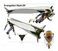 Evangelion Mark.09 Artbook 01