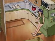 Apartamento de Misato Cocina (Neon Genesis Evangelion)