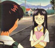 Mayumi Yamagishi frente a Ikari