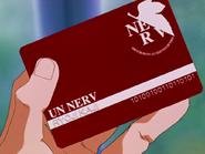 Ryoji Kaji NERV I.D. card