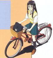 Mayumi Yamagishi bicicleta