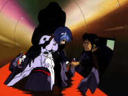 Gendo with Rei