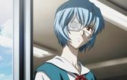 Rei staring (Rebuild)
