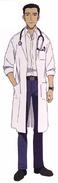 Toji Suzuhara Medic Shin Front