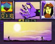 Evangelion Digital Card Library mini juego2