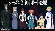 Evabf personajes nuevos