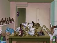 Apartamento de Misato Desorden 03 (Neon Genesis Evangelion)