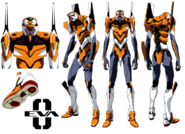 Evangelion Unidad 00 de Rebuild