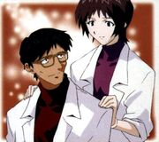 Gendo y Yui Ikari juntos.jpg