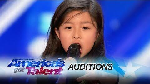 """Celine_Tam_9-Year-Old_Stuns_Crowd_with_""""My_Heart_Will_Go_On""""_-_America's_Got_Talent_2017"""