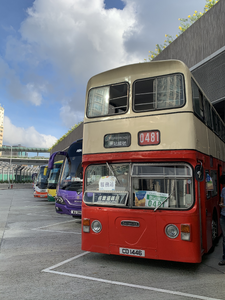舊巴士用作票站202007