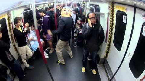 Harlem Shake Hong Kong Subway