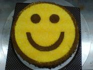 Smile cake 02