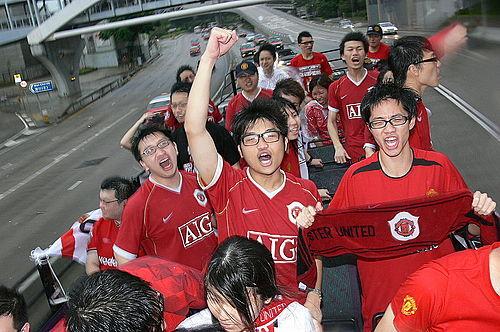 2007年香港曼聯球迷巴士巡遊事件