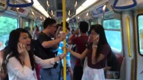 坐火車巧遇! 地鐵不能埋沒夢想