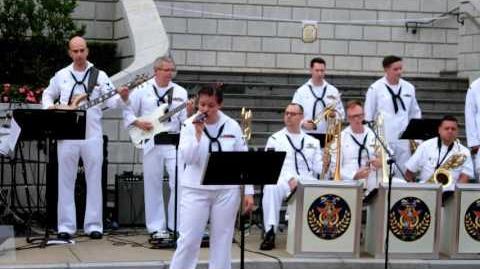 美國海軍第七艦隊樂團「太平洋大使」---山林道 @ Hong Kong Disneyland (HD)