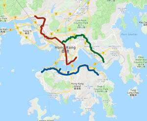 8月23日人鏈香港之路路線主辦方