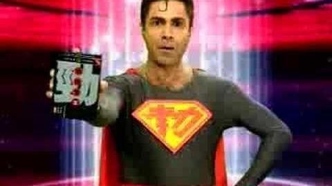 勁攪笑喬寶寶做超人