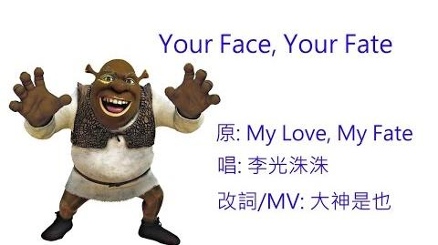 Your face, Your fate (改編歌曲)