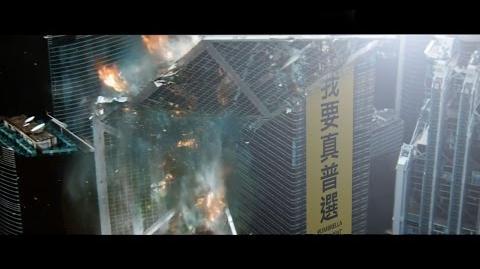佔領人士勾结外星势力,证据确鑿,香港陷入火海!
