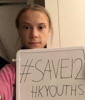 Save12HKYouths(Greta Thunberg)