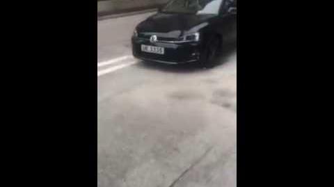 2016-08-07 梁天琦遭車跟蹤 車上男子自稱「阿爺嘅」、「報紙嘅」。