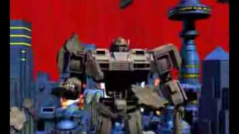 變形金剛Transformer Crossover 聖鬥士星矢Saint Seiya